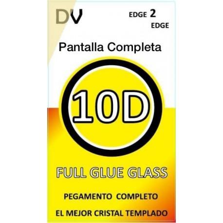 Y9 2018 HUAWEI Blanco CRISTAL Pantalla Completa FULL GLUE