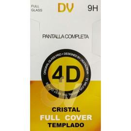 iPhone Xs Max Negro Cristal Plano 4D FULL GLASS