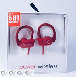 DV AURICULAR BLUETOOTH 5HR ROJO