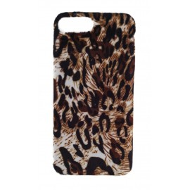 iPhone 7 Plus / 8 Plus Funda Terciopelo Leopardo