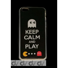 DV FUNDA DIBUJO IPHONE 5G KEEP CALM AND PLAY