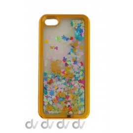 FUNDA BRILLI PURPURINA IPHONE 5G/5S/5SE BUHO