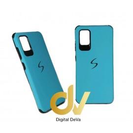 DV FUNDA A51 SAMSUNG S - PVC AZUL TURQUESA