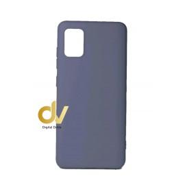 DV FUNDA A51 SAMSUNG SILICONA DURA 2MM GRIS