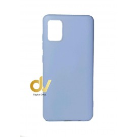 DV FUNDA A51 SAMSUNG SILICONA DURA 2MM LILA