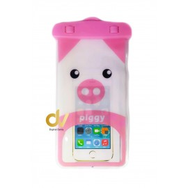 Universal Funda Impermeable PIG ROSA