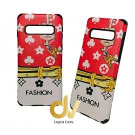 DV S10 SAMSUNG FUNDA FASHION ROJO