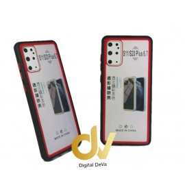 S20 Plus SAMSUNG FUNDA Dual Color PVC Bumper NEGRO