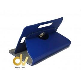 "Universal 8"" Azul Funda Tab Giratoria 360º"