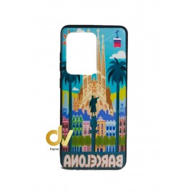 DV S20 Ultra SAMSUNG FUNDA Souvenir 5D PLAZA COLON