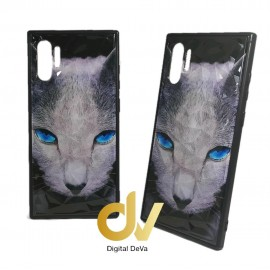DV NOTE 10 PLUS / PRO FUNDA DIBUJO DIAMOND GATO