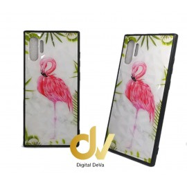 DV NOTE 10 PLUS / PRO FUNDA DIBUJO DIAMOND FLAMINGO