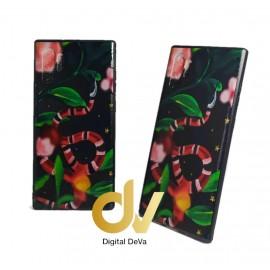 DV NOTE 10 PLUS / PRO SAMSUNG FUNDA DIBUJO RELIEVE 5D CORAL