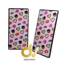 DV NOTE 10 PLUS / PRO SAMSUNG FUNDA DIBUJO RELIEVE 5D CORAZONES