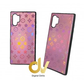 DV NOTE 10 PLUS / PRO SAMSUNG FUNDA ESTRELLAS DEL CITY SHINE  ROSA