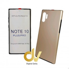 DV NOTE 10 PLUS / PRO SAMSUNG FUNDA PC 360 DORADO