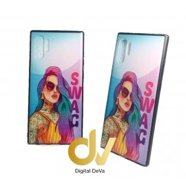 DV NOTE 10 PLUS / PRO SAMSUNG FUNDA DIBUJO RELIEVE 5D SWAG