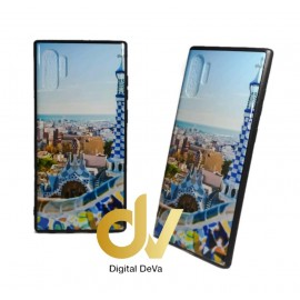DV NOTE 10 PLUS / PRO SAMSUNG FUNDA DIBUJO RELIEVE 5D PARQUE GUELL