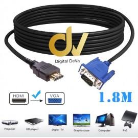 CABLE VGA A HDMI 1.8mts