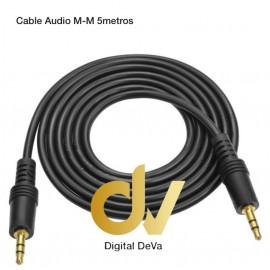 DV CABLE AUDIO AUX M-M 5MTS