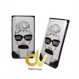 DV A90 5G SAMSUNG FUNDA  DIBUJO RELIEVE 5D GIRL BOSS