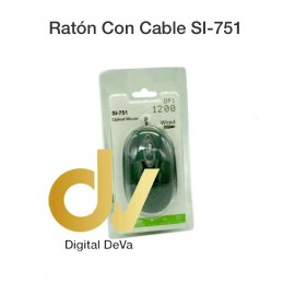 Raton Optico De Cable DV-SI-751
