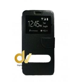 S6 Edge Plus Samsung Funda Libro  2 Ventanas NEGRO