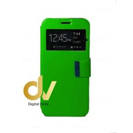 Mi Max 3 Xiaomi Funda Libro Con Cierre 1 Ventana Verde