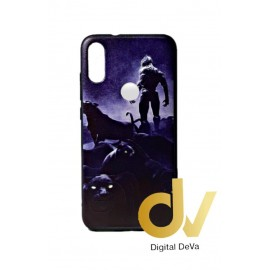 DV MI PLAY XIAOMI FUNDA DIBUJO RELIEVE 5D PANTERAS