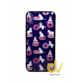 DV PSMART PLUS HUAWEI FUNDA DIBUJO RELIEVE 5D UNICORNIOS