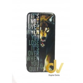DV A50 SAMSUNG FUNDA DIBUJO RELIEVE 5D ANIMAL PRIND LOBO