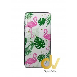 DV A50 SAMSUNG FUNDA DIBUJO RELIEVE 5D FLAMINGOS