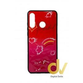 DV P30 LITE NEGRO HUAWEI FUNDA DIBUJO DIAMOND NUBES