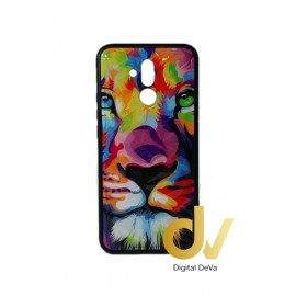 DV MATE 20 LITE HUAWEI FUNDA DIBUJO DIAMOND LEON COLORES