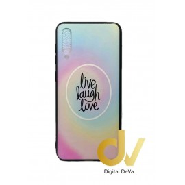DV A50 SAMSUNG FUNDA DIBUJO RELIEVE 5D LIVE LAUGH LOVE