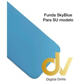 A10S Samsung Funda Silicona SkyBlue