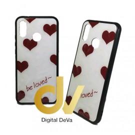 DV P20 LITE HUAWEI FUNDA DIBUJO DIAMOND CORAZONES BE LOVED