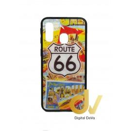 DV A40 SAMSUNG FUNDA DIBUJO DIAMOND ROUTE 66
