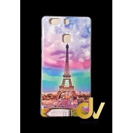 P9 Plus Huawei Funda Dibujo Paris