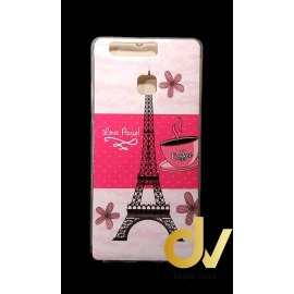 DV P9 HUAWEI FUNDA DIBUJO LOVE PARIS