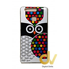 P9 Huawei Funda Dibujo Buho