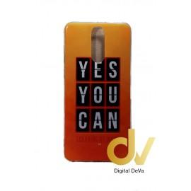 DV MATE 10 LITE HUAWEI FUNDA DIBUJO YES YOU CAN
