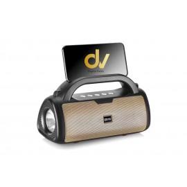 Altavoz Bluetooth DV-E816 DORADO