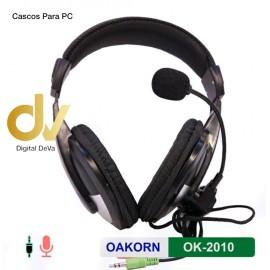 DV CASCOS PARA PC VoIP OK-221