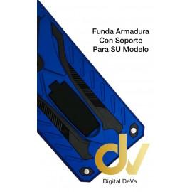 DV P40 LITE HUAWEI FUNDA ARMADURA CON SOPORTE  AZUL