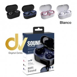 DV AURICULAR BLUETOOTH 207 Sound  BLANCO