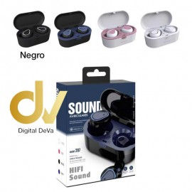 DV AURICULAR BLUETOOTH 207 Sound NEGRO
