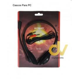 DV CASCOS PARA PC KM900