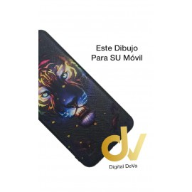 DV P40 HUAWEI FUNDA DIBUJO RELIEVE 5D LEON COLORES