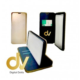 iPHONE 11 FUNDA LIBRO Premium 2 Card DORADO